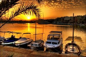 Alcudia Harbour by Bootcoot