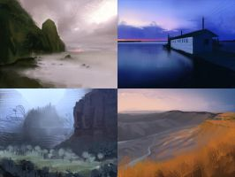 Landscapes by 1022