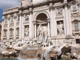 Trevi Fountain by DominiqueDuong