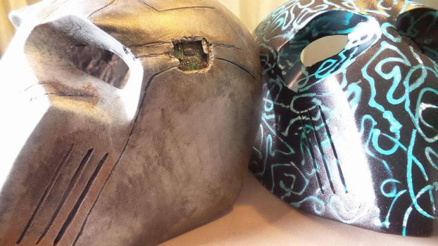 WIP Airsoft/Paintball masks by ReplicanteCustom