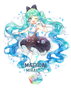 Magical Mirai 2016 by herbflavor