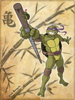 Donatello's Encounter by Kanogetz