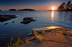 Valaam islands.... sunset... _5_ by my-shots