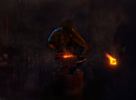 The Blacksmith by HTerminator2H