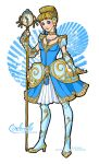 Disney Magical Girl - Cinderella by van-etheran
