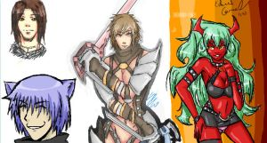 iScribble1 by Linitha