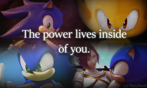 The power lives inside of you. by NuryRush