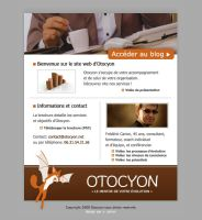 Otocyon Template by NNaRa