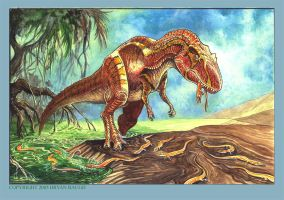 Allosaurus by BryanBaugh