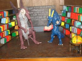 Diarama: The Library 6 of 6 by Rasiel-Draconis