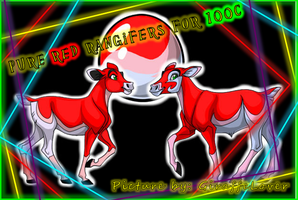 Pure Red Rangifer Sale Banner by tropical395