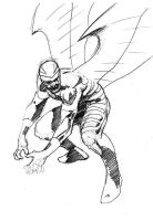 DSC Archangel Sketchy sketch by Paul-Moore