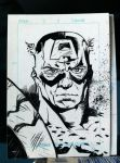 Captain America Sketch Card by JasonTormos