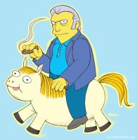 Fat Tony Fat Pony by D-MAC