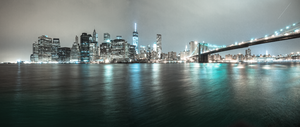 Manhattan Skyline by lalas