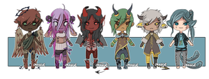 Closed: Demon adoptables! by Stuffed-orange