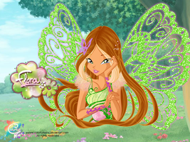 Flora Butterflix Wallpaper by ColorfullWinx