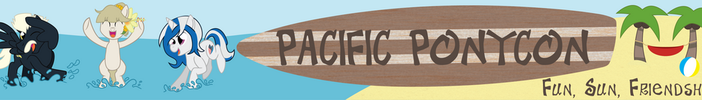 Pacific Ponycon 17 Web Banner by ShowtimeandCoal