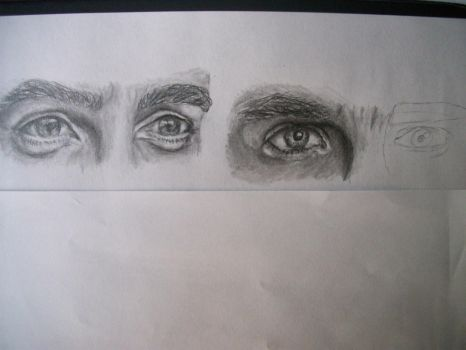 Eye Practice - Part 1 (Part 2 in Up) by miamary123456