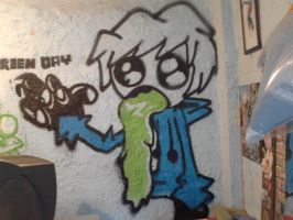 my first graffiti by Art-Josh