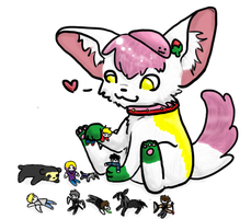 Lookit all my toys by Frootsalad
