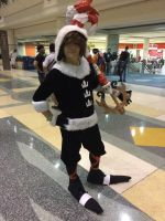 Christmas sora by Mrdrawinglover