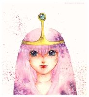 princess bubblegum by Lovepeace-S