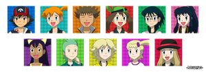 PKMN V - Free Character Icons by Blue90