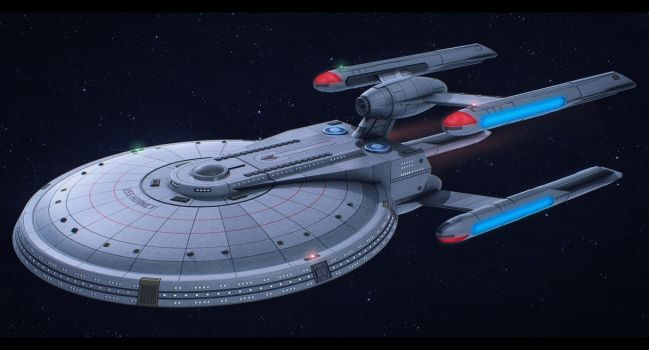 Star Trek USS Hornet by AdamKop