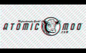 Atomic Moo 3D Wallpaper Experiment by AtomicMoo