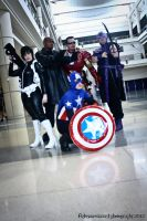 Mega con - The Avengers by Rebecca-Manuel