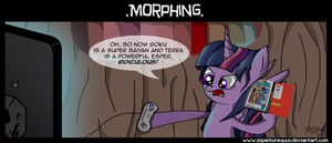 Comic 35: Morphing by ZSparkonequus