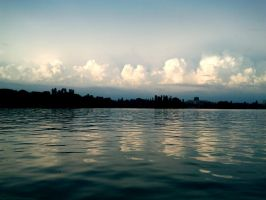 The Herastrau Lake - Clouds by chris-t-an