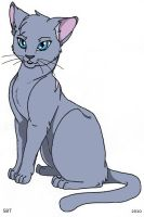 Bluestar of ThunderClan by StarlightWhispers