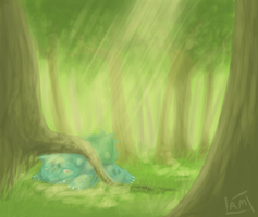 Bulbasaur 001 by InnocentDrive