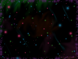 Space Color Background by lolzcupcake