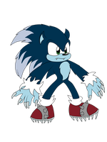 Sonic the Werehog by JazzTheTwilightGaia