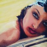 Oil on canvas work in process by nvaquero