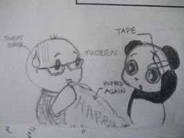 Tutt gives Panda a present by MelodicInterval