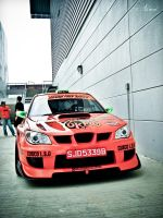 Team Orange Subaru Impreza by ahmad0410