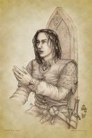 Boromir at Rivendell by aautio