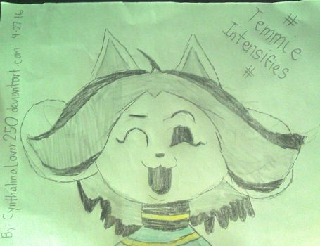 Hoi there, I'm Temmie! by The-Rosalina-Guru