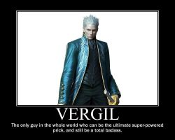 Vergil Motivational Poster by Solo3511
