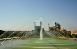 Naghseh Jahan Square in Esfahan by HadiArts
