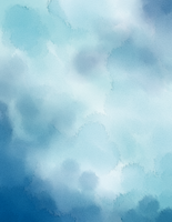 Blue Watercolor BG - 8.5 x 11 by SparkleStuff