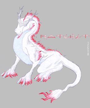 Ratchetesque Dragon by shafau
