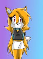Rita the fox entry for teamfoxfans by SammyTheDoodler