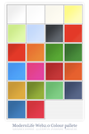 ModernLife Web2.0 pallete by PixelCrunch