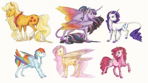 Headcanon: Mane 6 by Earthsong9405