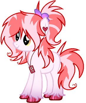 (AUCTION) Valentine's Day Pony OPEN by LexiPika-Adopts
